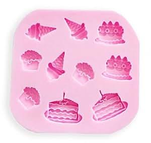 10 cavidad mini fondant silicona az car craft cakes - Moldes silicona amazon ...