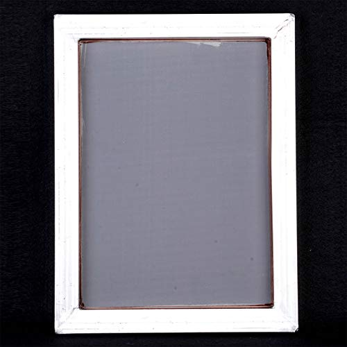A3 Silk Screen Printing Aluminum Frame with White 43T Silk Print Polyester Mesh for High-Precision Printed Circuit Boards Mayitr ()