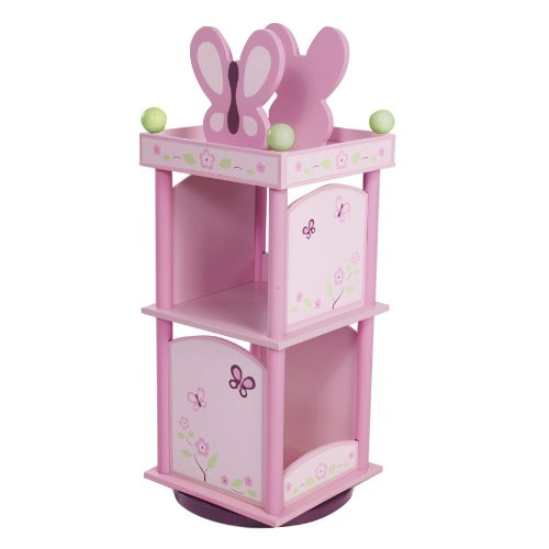 Wildkin Sugar Plum Revolving Bookcase by Wildkin