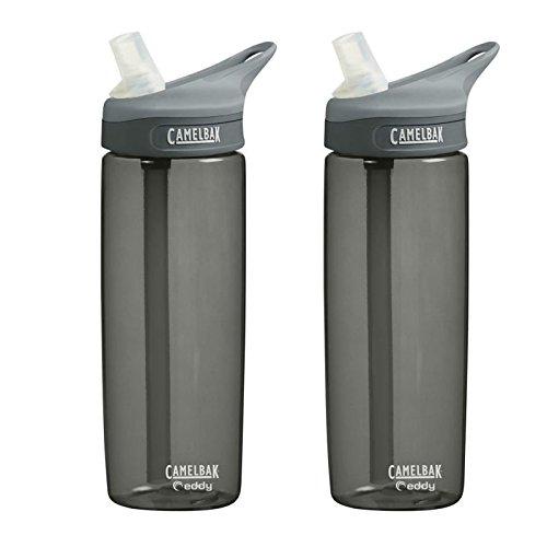 Camelbak Eddy Water Bottles 0.6L (Pair) - Charcoal