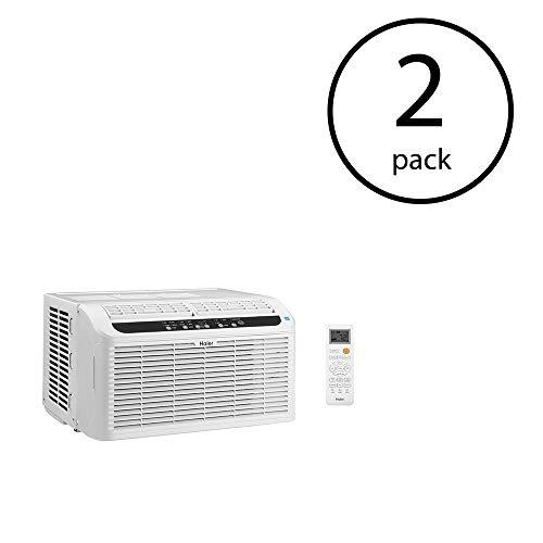Haier Serenity Series 115V 3 Speed Ultra Quiet Window Air Conditioner (2 Pack)
