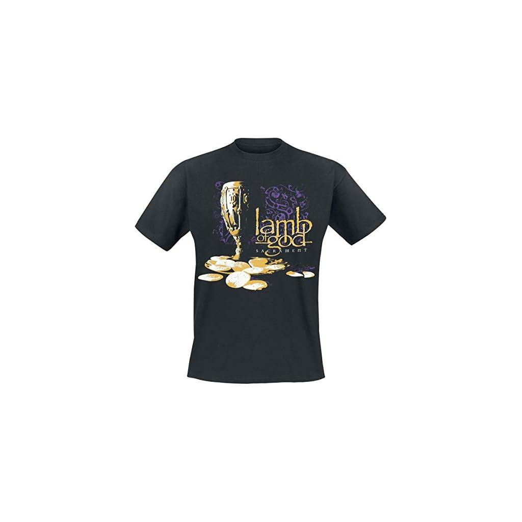 Lamb Of God Sacrament Cover Camiseta