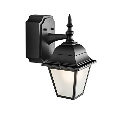Portfolio gfci 1181 in h black outdoor wall light mozeypictures Images