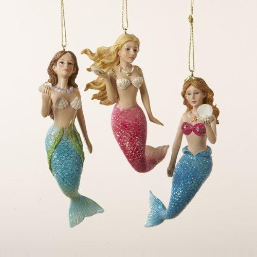 41Mfbf4LVCL Amazing Mermaid Christmas Ornaments