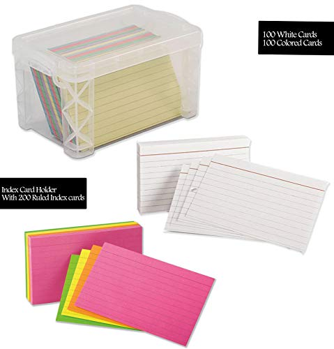 Index Card Box, Clear 3