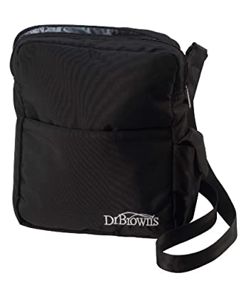 Dr Browns Natural Flow Insulated Bottle Tote Black from Dr. Brown's