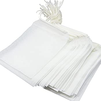 Disposable Tea Filter Bags - 100 Count