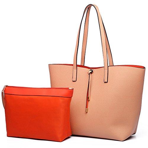 Reversible Miss Women Tote Bag Sac Lulu qwaUwEH