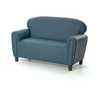 Cool Brand New World Furniture Fp2B100 Brand New World Preschool Enviro Child Upholstery Sofa Blue Alphanode Cool Chair Designs And Ideas Alphanodeonline