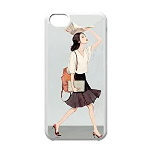 BLACCA Phone Case Of lovely girl for iPhone 5C
