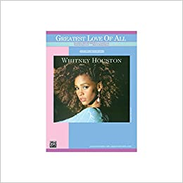 The Greatest Love of All - Sheet Music - (Whitney Houston