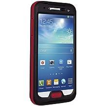 Seidio CSWSSGS4-BROBEX Waterproof Case for Samsung Galaxy S4 - Retail Packaging - Black/Red