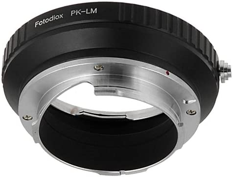 M9-P M8.2 Fotodiox Lens Mount Adapter fits Leica M-Monochrome M10 and Ricoh GXR mount A12 M9 Pentax K//PK Lens to Leica M-Series Camera