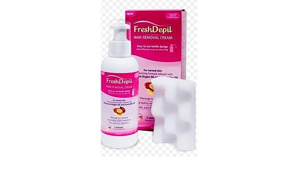 Crema de depilación de FreshDepil, de 150 ml: Amazon.es: Deportes y aire libre