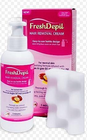 Crema de depilación de FreshDepil, de 150 ml