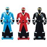 Power Rangers Super Megaforce - Mighty Morphin Alien Rangers Legendary Ranger Key Pack, Red/Blue/Black