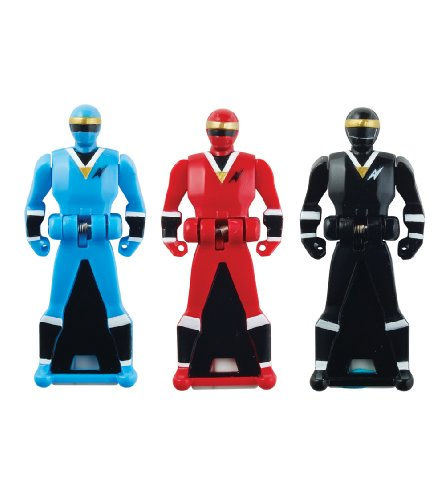 Ranger Key (Power Rangers Super Megaforce - Mighty Morphin Alien Rangers Legendary Ranger Key Pack, Red/Blue/Black)