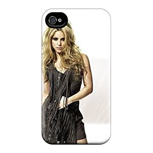 Rewens Snap On Hard Case Cover Punk Shakira Protector For Iphone 4/4s