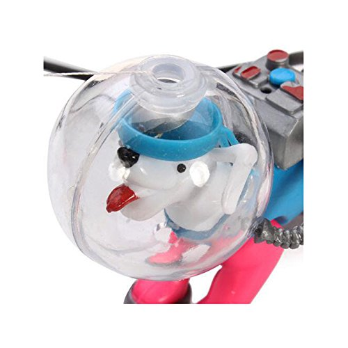 Aquarium Decor Diving Sea Dog Fish Aquarium Bubble Fish Tank Decoration Ornament W83 by Generic
