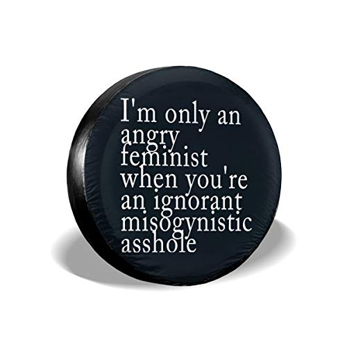Easy Feminist Halloween Costumes - MKJIH Spare Tire Cover Angry Feminist