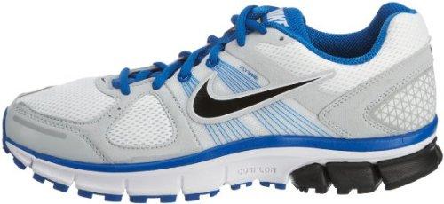 Nike Mens Nike Air Pegasus + 29 Scarpe Da Corsa 6.0 (bianco / Nero / Blu Scintilla / Platino Puro)