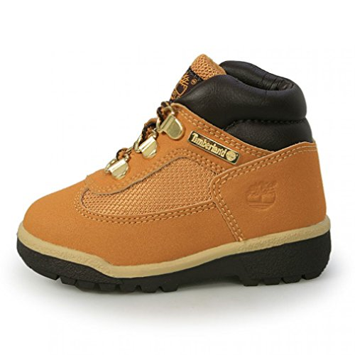 Timberland Field Boot Scuff ProofToddler Color: Wheat Scuff Proof Size: Toddler 5.5