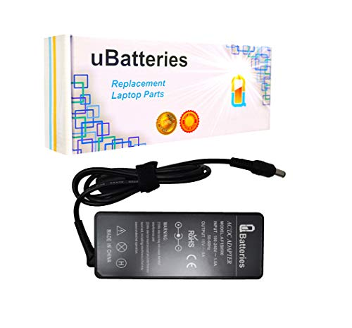 UBatteries Compatible 15V 75W AC Adapter Charger Replacement for Toshiba PA1750-08 PA3083E-1ACA PA3083U-1ACA PA3092U-1ACA PA3201U-1ACA PA3215U-1ACA PA3282U-1ACA PA3282U-2ACA PA3283E-2ACA PA3283U-1ACA