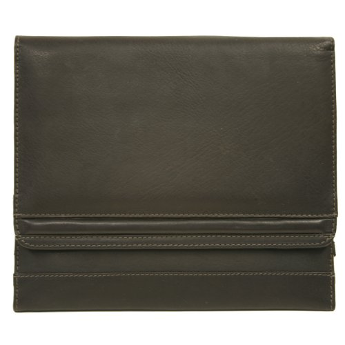 Piel Leather Ipad2 Envelope Case, Chocolate, One Size by Piel Leather