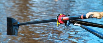 Dreher Carbon Fixed Length Sculls by Dreher