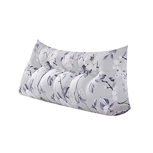 QFFL Pillow Pillow Cushion Belt backrest with Pillow core (5 Patterns and 2 Sizes) (Color : B, Size : 602550CM)