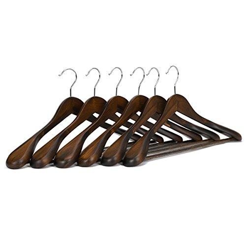 J.S. Hanger Solid Wooden Extra-Wide Shoulder