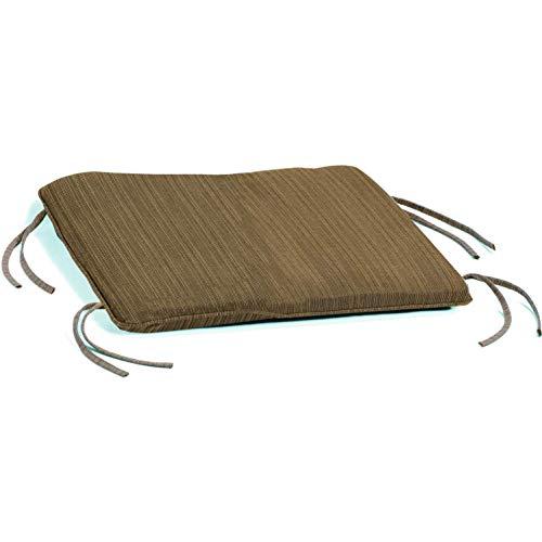- Oxford Garden Siena Ottoman Cushion, Dupione Walnut (Renewed)