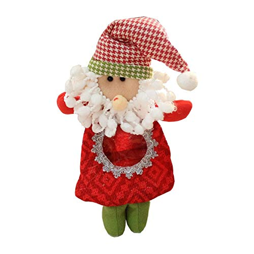 Hanging Estrella Outdoor (Phong's 2019 Year Gift Bags Santa Claus Snowman Elk Doll Gift Holders Candy Packing Bags for Christmas Tree Hanging Ornaments SD124 (ST))