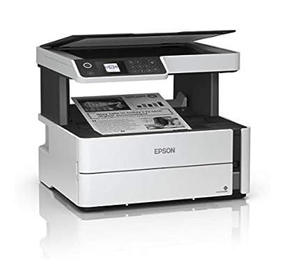 Epson EcoTank ET-M2170 nachf/üllbares 3-in-1-Tintenstrahl Multifunktionsger/ät Drucken, kopieren, scannen, DIN A4, WiFi, Duplex, USB 2.0, gro/ßer Tintenbeh/älter, hohe Reichweite, niedrige Seitenkosten
