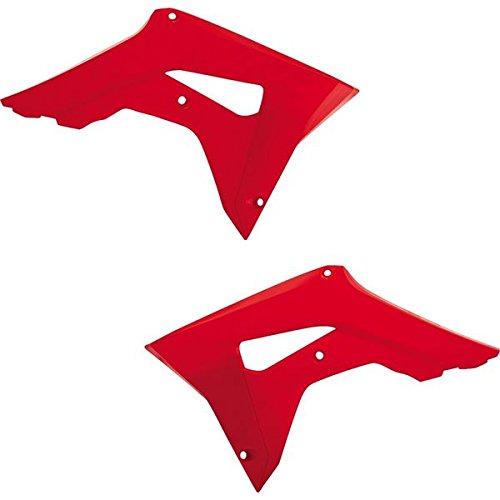 Acerbis 2630660227 Radiator Shrouds - Red