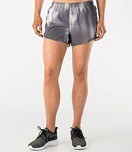 gamba Mod Nike nero vestito da Nero donna Tempo Printed pantaloncini 4dnqwxaf