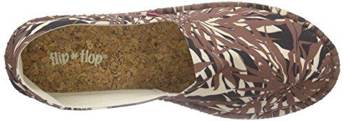 flip*flop Flippadrilla Seaweed - Alpargatas Mujer Marrón