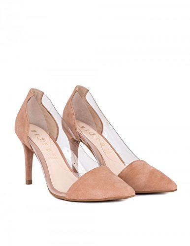 VEXED Zapatos Salón Nude Vinilo