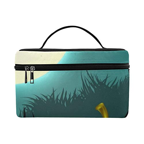 Halloween Creepy Pumpkin Design Lunch Box Tote Bag Lunch Holder Insulated Lunch Cooler Bag For Women/men/picnic/boating/beach/fishing/school/work