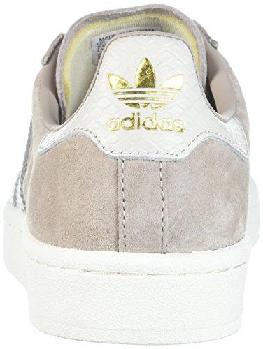 Adidas Originals Womens Campus W Sneaker Vapore Grigio / Grigio Perla Bianco / Bianco Gesso