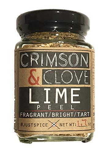 Granulated Lime Peel by Crimson and Clove (1.7 Oz.)