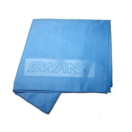 Cisnes toalla de microfibra compacto deportes – azul