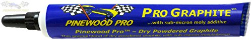 (Pinewood Pro Dry Graphite Lube with Moly Additive for Derby Car Axles)