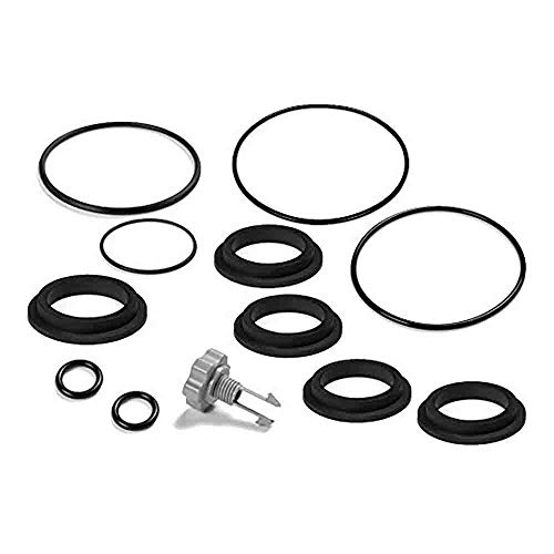 Gasket Seal O-ring - Intex Replacement Gasket and Air Release Valve Set (as Shown)
