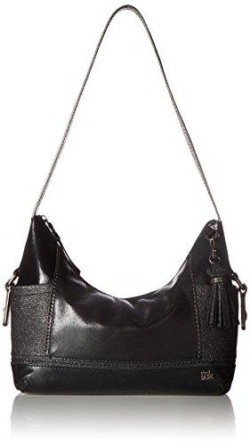 The Sak Women's Kendra Hobo Black Sparkle Handbag by The Sak