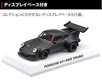 Kyosho Porsche / Porsche 911 RSR Turbo miniautomoevil Special Collection 1/64 con documento: Amazon.es: Juguetes y juegos