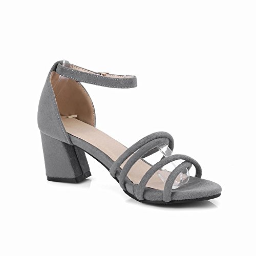 Sandali grigi con punta aperta per donna MELVp4nars