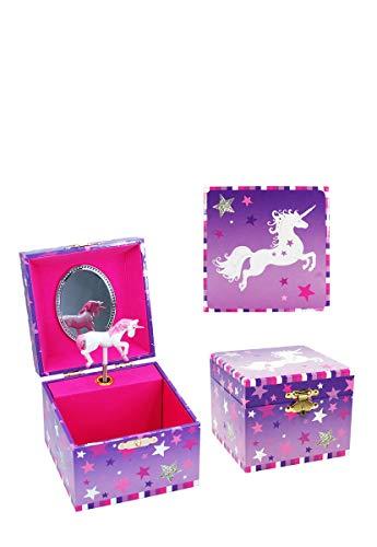 Hamleys Caja Musical Unicornio Lila Chica Juguete Didactico para Niñas Multi Talla …