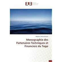 Monographie des Partenaires Techniques et Financiers du Togo