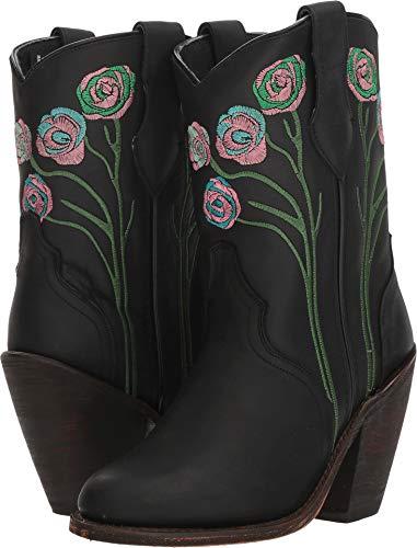Dingo Women's Dahlia Black Leather 7.5 B US